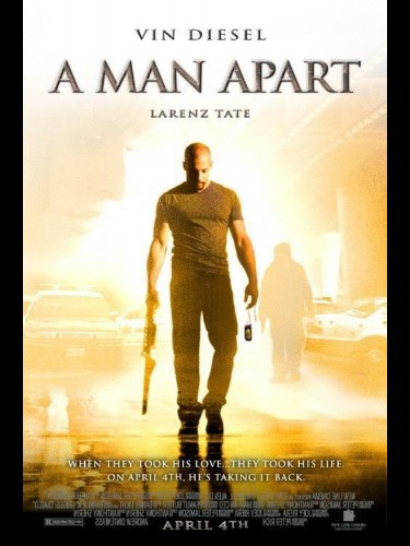 Affiche du film HOMME A PART (UN) (PREVENTIVE) - A MAN APART