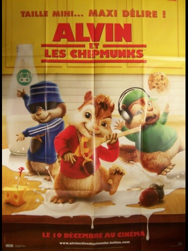 Affiche du film ALVIN ET LES CHIPMUNKS - ALVIN AND THE CHIPMUNKS