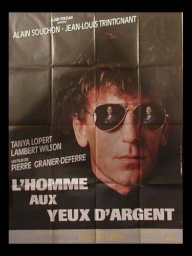 Affiche du film HOMME AUX YEUX D'ARGENT (L')