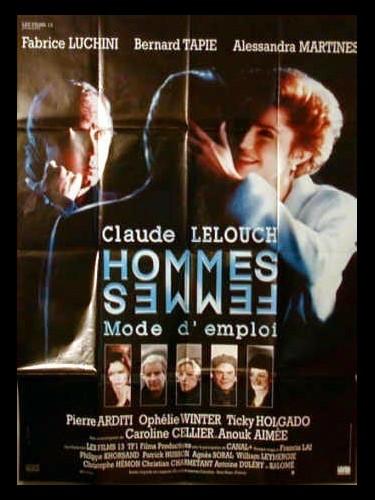 Affiche du film HOMME FEMME MODE D'EMPLOI