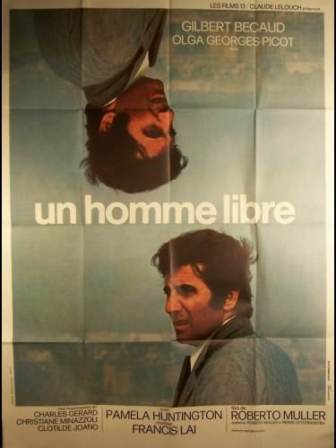Affiche du film HOMME LIBRE (UN)