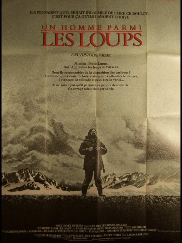 Affiche du film HOMME PARMI LES LOUPS (UN) - NEVER CRY WOLF