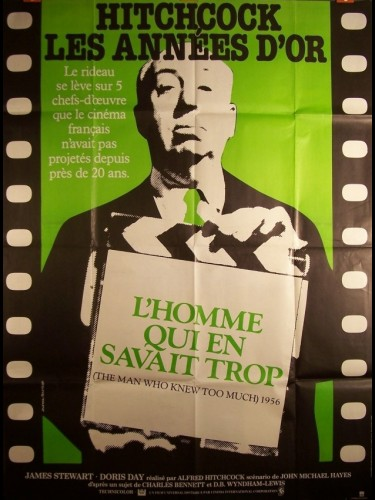 Affiche du film HOMME QU EN SAVAIT TROP (L') - THE MAN WHO KNEW TOO MUCH