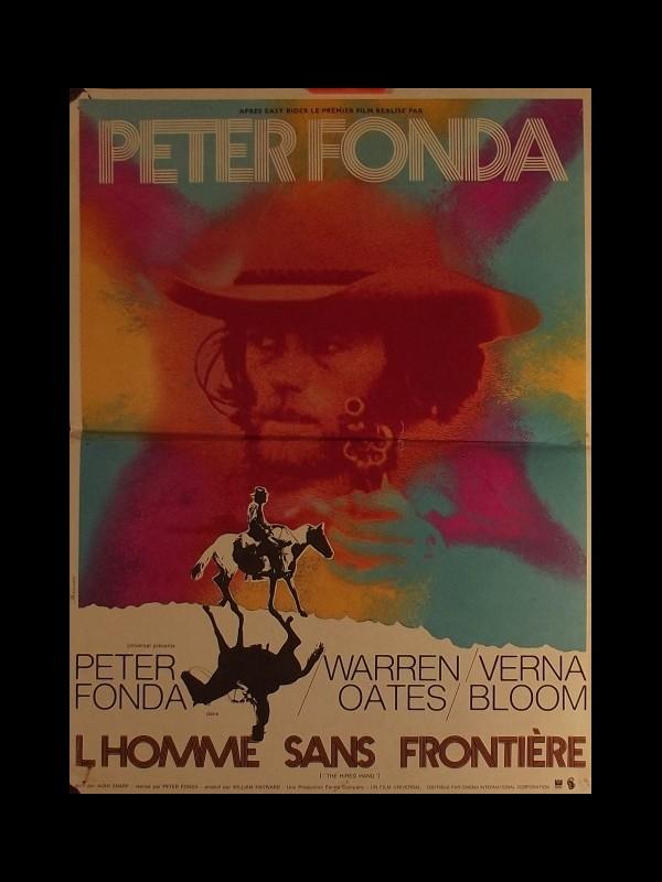 Affiche du film HOMME SANS FRONTIERE (L') - THE HIRED HAND