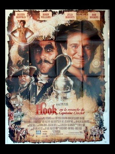Affiche du film HOOK-LA REVANCHE DU CAPITAINE CROCHET-