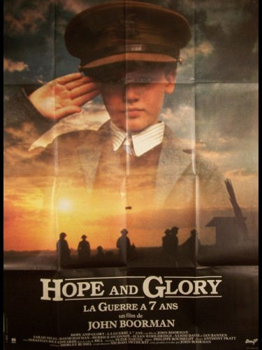Affiche du film HOPE AND GLORY