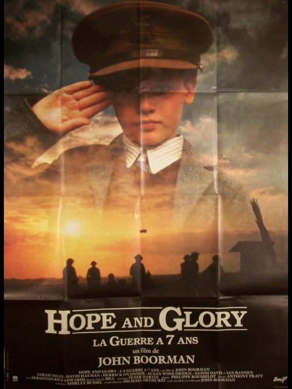 Affiche du film HOPE AND GLORY