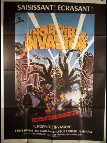 Affiche du film HORRIBLE INVASION (L') - THE GIANT SPIDER INVASION