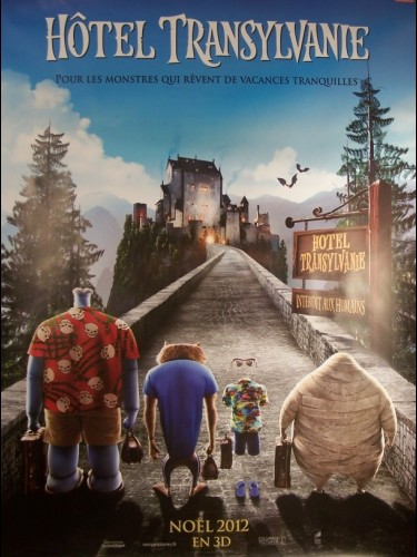 Affiche du film HOTEL TRANSYLVANIE