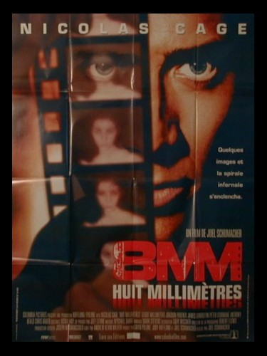 Affiche du film HUIT MILLIMETRES