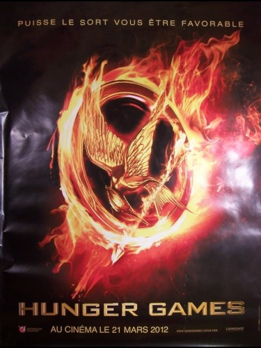 Affiche du film HUNGER GAMES (THE) (AFFICHE ROULÉE)