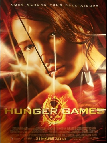 Affiche du film HUNGER GAMES -VISUEL A-