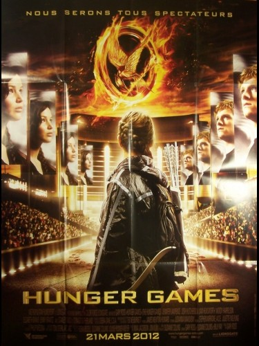 Affiche du film HUNGER GAMES -VISUEL B-
