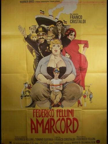 Affiche du film AMARCORD