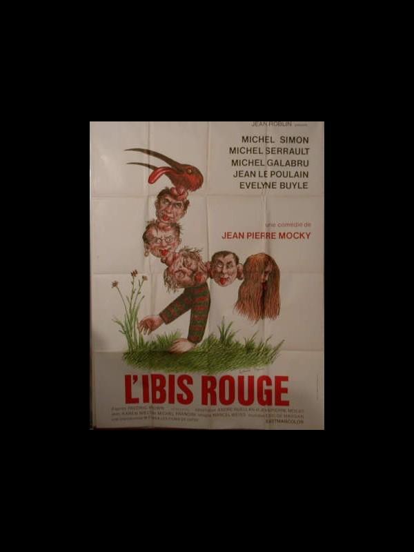 Affiche du film IBIS ROUGE (L')
