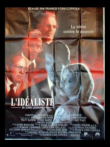 Affiche du film IDEALISTE (L') - THE RAINMAKER