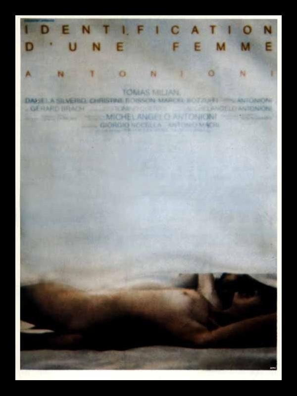 Affiche du film IDENTIFICATION D'UNE FEMME