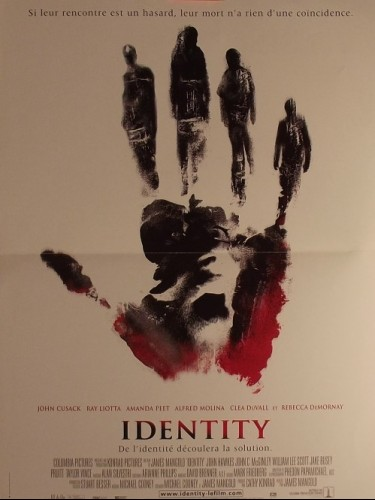 Affiche du film IDENTITY