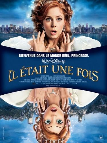 Affiche du film IL ETAIT UNE FOIS (WALT DISNEY) - ENCHANTED