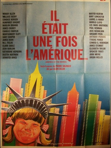Affiche du film IL ÉTAIT UNE FOIS L'AMERIQUE - AMERICA AT THE MOVIES