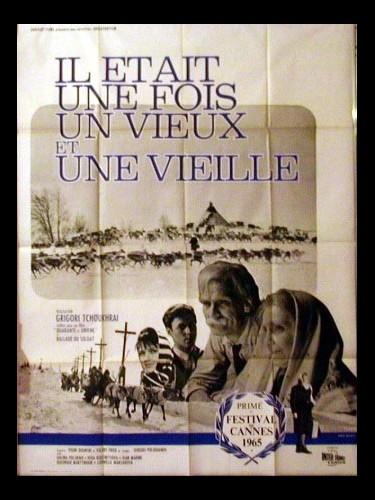Affiche du film IL ETAIT UNE FOIS UN VIEUX ET UNE VIEILLE - ZHILI-BYLI STARIK SO STARUKHOY