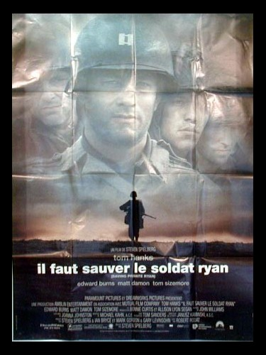 Affiche du film IL FAUT SAUVER LE SOLDAT RYAN - SAVING PRIVATE RYAN