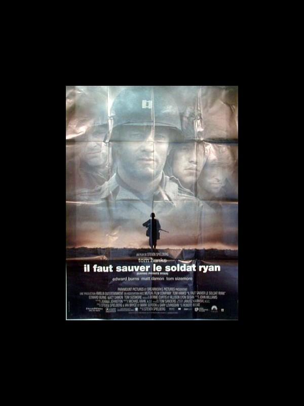 Affiche du film IL FAUT SAUVER LE SOLDAT RYAN - SAVING PRIVATE RYAN