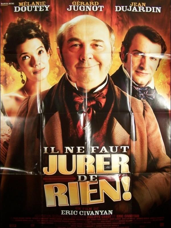 Affiche du film IL NE FAUT JURER DE RIEN