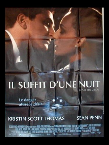 Affiche du film IL SUFFIT D'UNE NUIT - UP AT THE VILLA