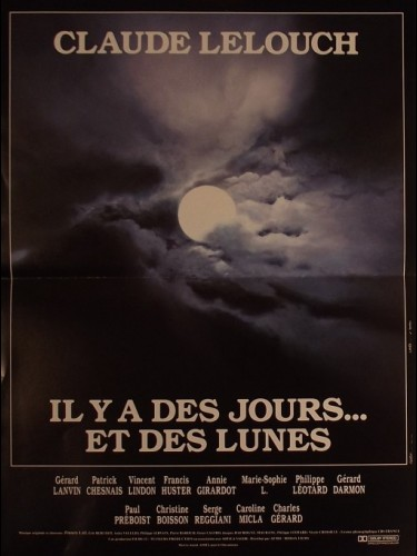 Affiche du film IL Y A DES JOURS ET DES LUNES