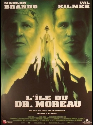 Affiche du film ILE DU DOCTEUR MOREAU (L') - THE ISLAND OF DR. MOREAU