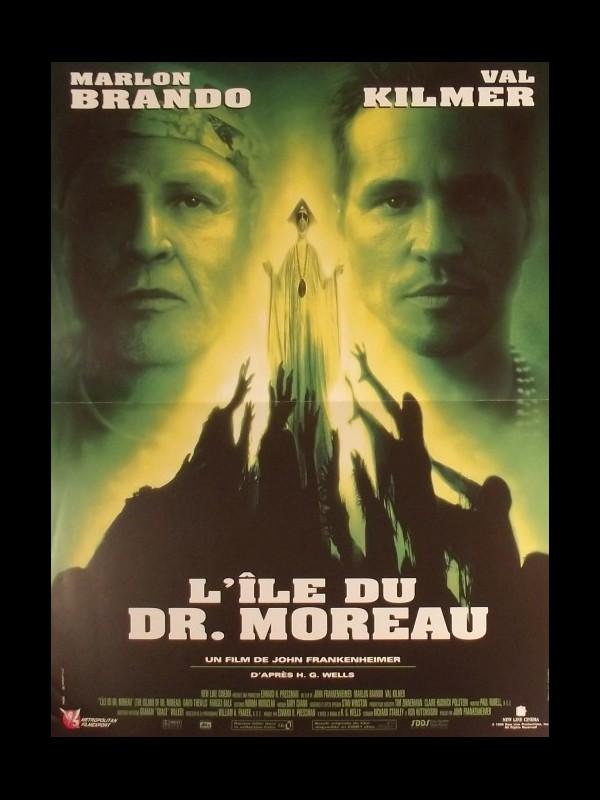 Affiche du film ILE DU DOCTEUR MOREAU (L') - THE ISLAND OF DR. MOREAU