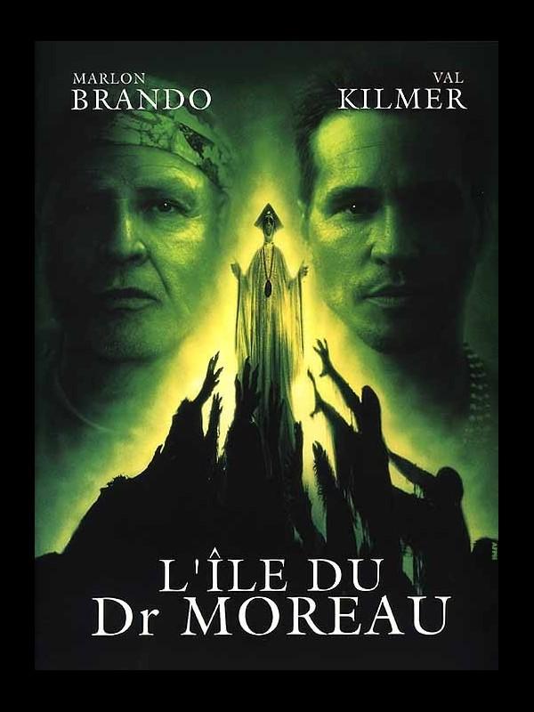 Affiche du film ILE DU DR MOREAU (L') - THE ISLAND OF DR. MOREAU