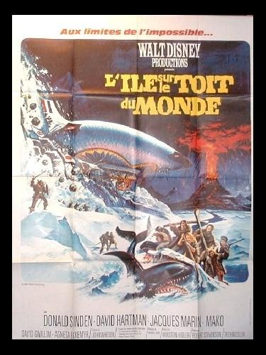 Affiche du film ILE SUR LE TOIT DU MONDE (L')