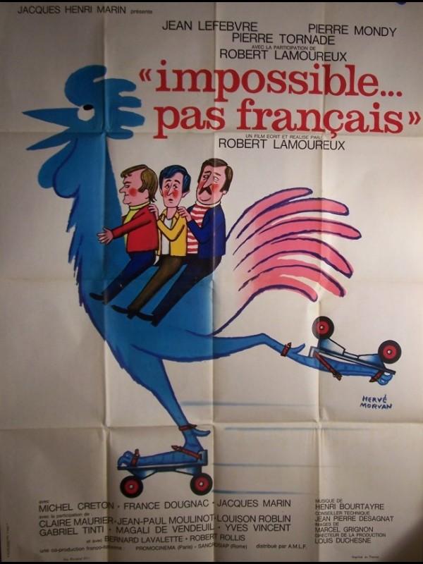 Affiche du film IMPOSSIBLE PAS FRANCAIS