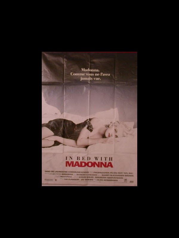 Affiche du film IN BED WITH MADONNA