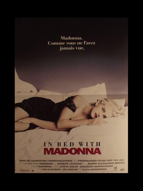 Affiche du film IN BED WITH MADONNA