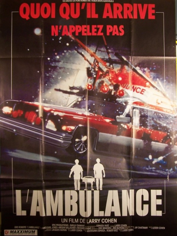 Affiche du film AMBULANCE (L') - THE AMBULANCE