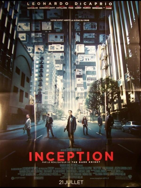 Affiche du film INCEPTION