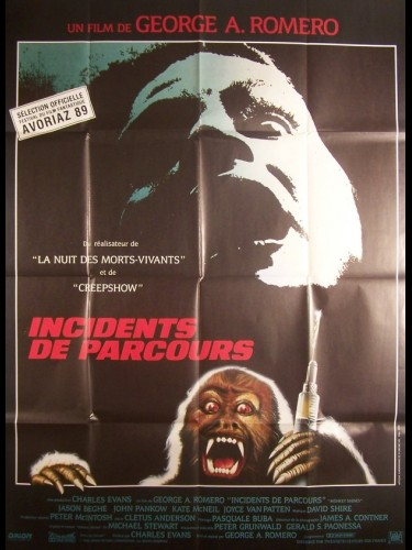 Affiche du film INCIDENT DE PARCOURS - MONKEY SHINES
