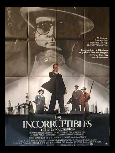 Affiche du film INCORRUPTIBLES (LES) - THE UNTOUCHABLES