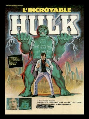 Affiche du film INCROYABLE HULK (L') - INCREDIBLE HULK (THE)