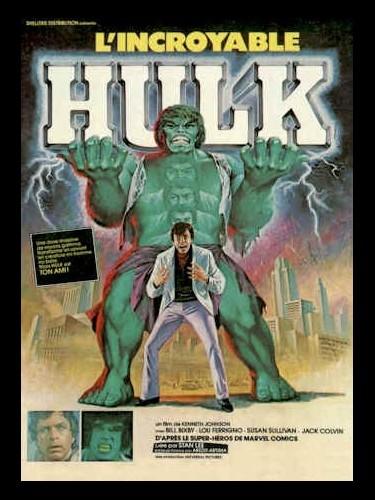 Affiche du film INCROYABLE HULK (L') - INCREDIBLE HULK (THE)