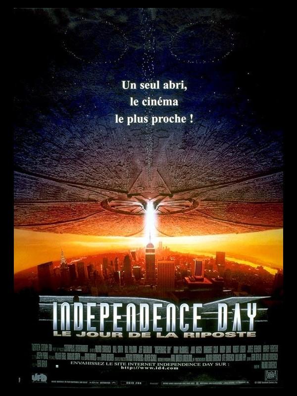Affiche du film INDEPENDENCE DAY