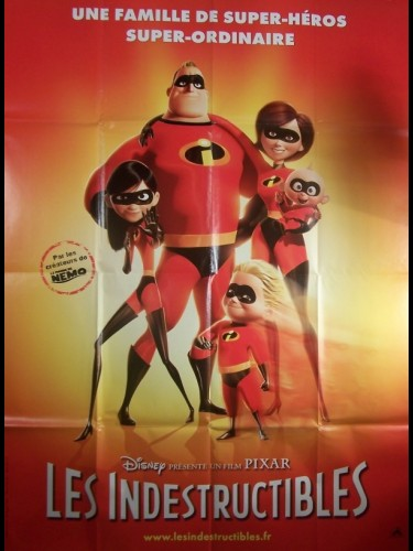 Affiche du film INDESTRUCTIBLES (LES) - THE INCREDIBLES