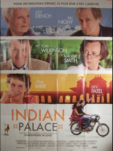 Affiche du film INDIAN PALACE - THE BEST EXOTIC MARIGOLD HOTEL