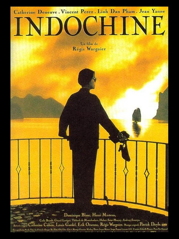 Affiche du film INDOCHINE