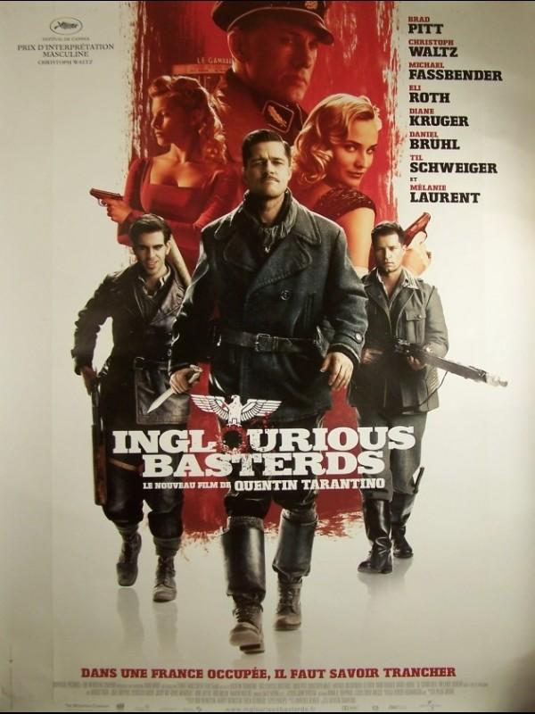 Affiche du film INGLOURIOUS BASTERDS