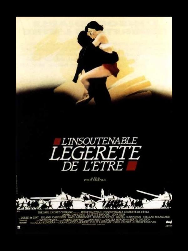 Affiche du film INSOUTENABLE LEGERETE DE L'ETRE (L') - THE UNBEARABLE LIGHTNESS OF BEING