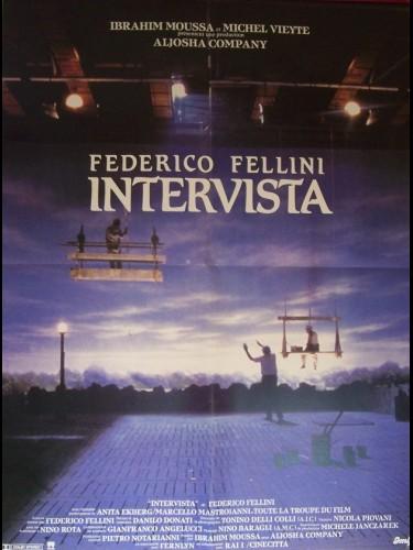 Affiche du film INTERVISTA